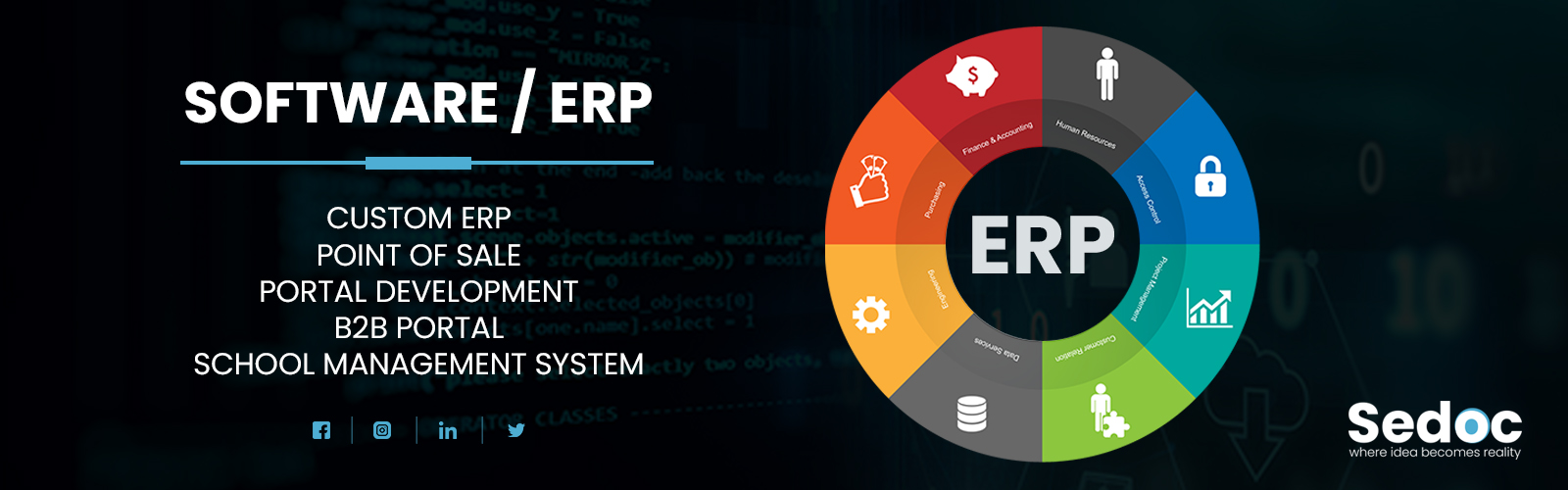 Software and ERP